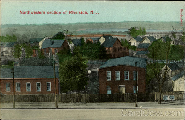 Northwestern Section Of Riverside New Jersey