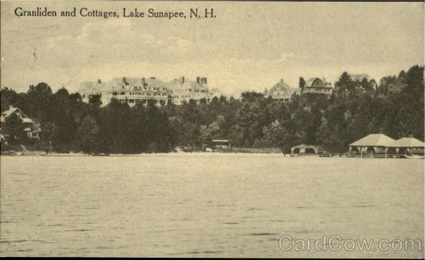 Granliden And Cottages Lake Sunapee New Hampshire