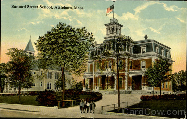Sanford Street School Attleboro Massachusetts