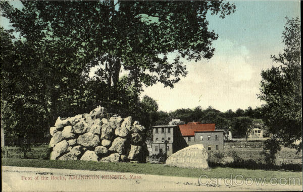 Foot Of The Rocks Arlington Massachusetts
