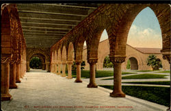 East Arcade And Memorial Court, Stanford University