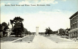 North Third Street And Water Tower