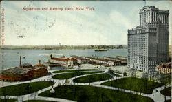 Aquarium And Battery Park