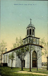 Catholic Church Postcard