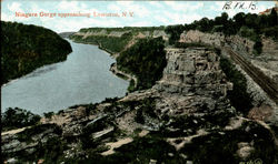 Niagara Gorge Approaching Lewiston