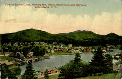 View Of Saranac Lake