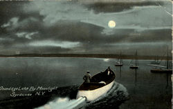 Onondago Lake By Moonlight