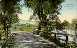 Roadway At Fort Ann