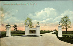 Entrance To Rumson Country Club