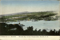 Meredith Bay On Lake Winnipesaukee