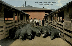 Hog Pens Union Stock Yards