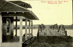 Wagon Bridge Over Platte River