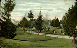 Woodland Cemetery General View From Main Entrance