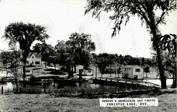 Jordan's Homestead And Cabins Christie Lake Ontario