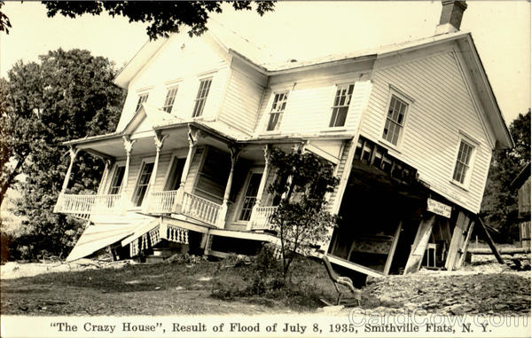 The Crazy House Smithville New York Disasters