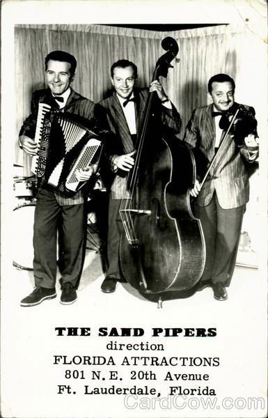 The Sand Pipers, 801 N. E. 20th Avenue Fort Lauderdale Florida