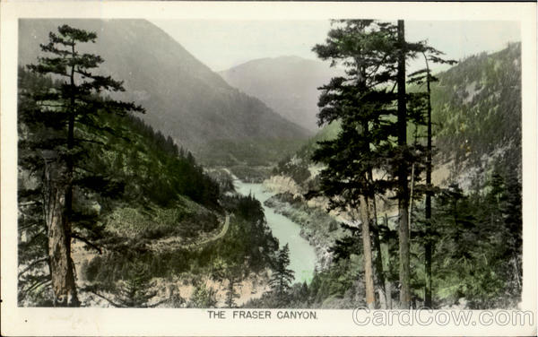 The Fraser Canyon Vancouver Canada British Columbia