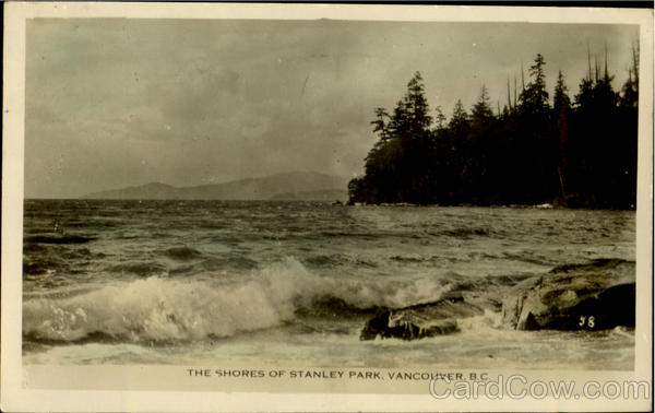 The Shores Of Stanley Park Vancouver British Columbia