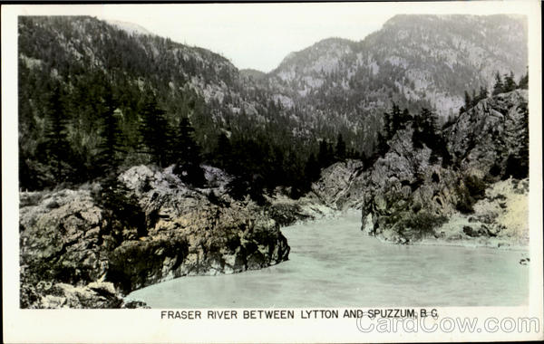 Fresher River Between Lytton And Spuzzum Canada British Columbia