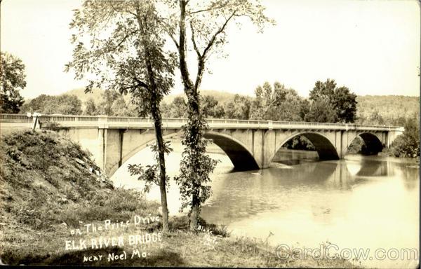 On The Prize Drive Elk River Bridge Noel Missouri