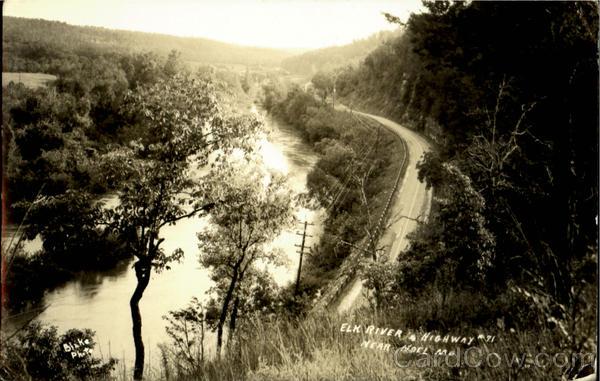 Elk River & Highway Noel Missouri