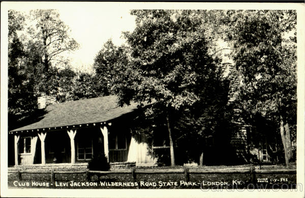 Club House, Levi Jackson Wilderness Road State Park London Kentucky