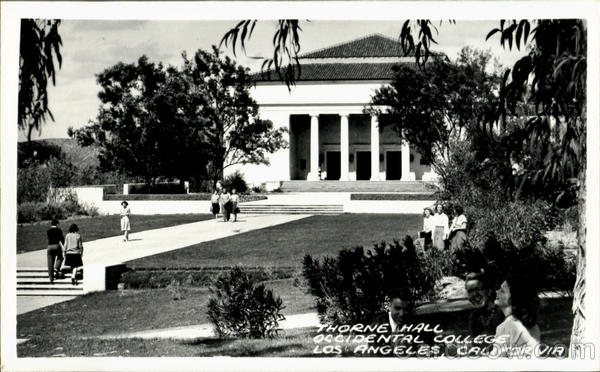 Thorne Hall, Occidental College Los Angeles California