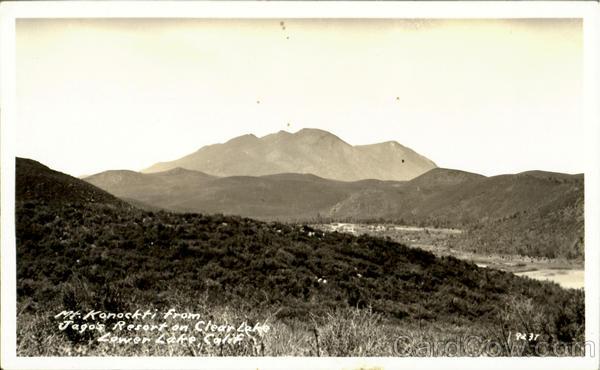 Mt. Konockti Clearlake California