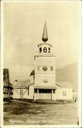 Russian Church In Sitka