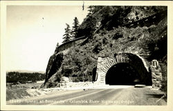 Tunnel At Bonneville, Columbia River Highway