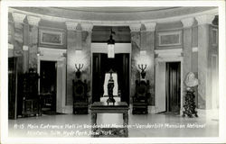 Main Entrance Hall In Vanderbilt Mansion