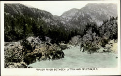 Fresher River Between Lytton And Spuzzum