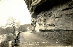 The Prize Drive, Highway 71 Postcard