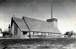 St. John's Episcopal Church By The Lake Postcard