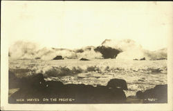 High Waves On The Pacific