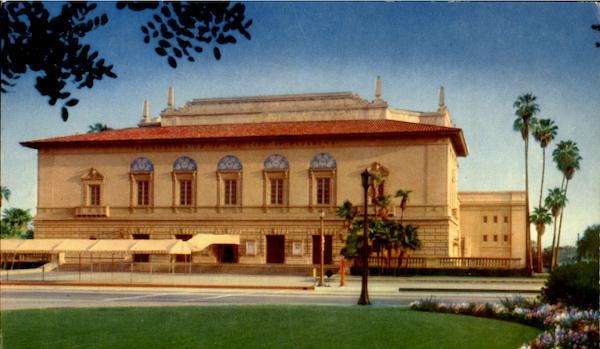 Civic Auditorium Of Pasadena California