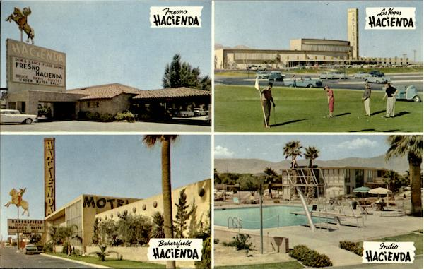Hacienda Motel Fresno California