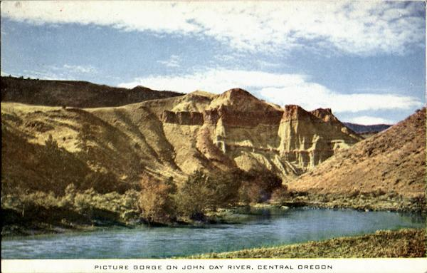 Picture Gorge On John Day River Scenic Oregon