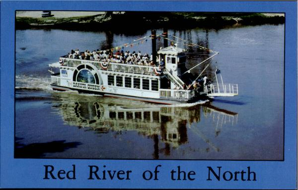 Red River Of The North Dakota Queen Boats, Ships