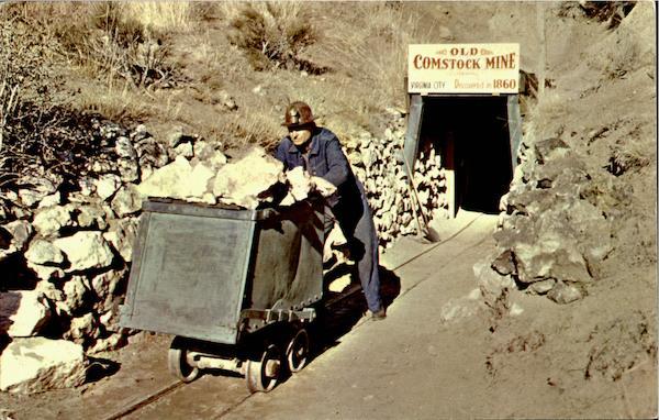 The Occidental Mine Virginia City Nv
