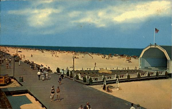 Band Stand Beach And Boardwalk Ocean City Maryland
