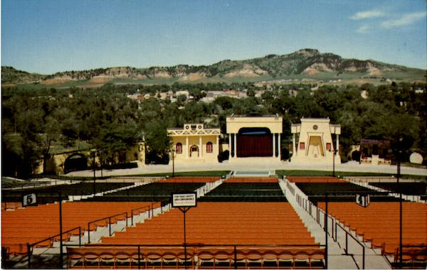 Black Hills Passion Play Amphitheater Spearfish Sd