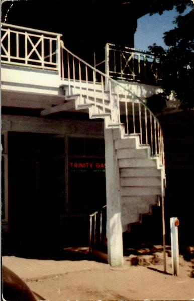 Picturesque Outside Circular Staircases At Weaverville California