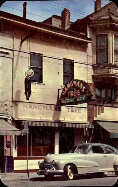 Hangman's Tree Placerville California