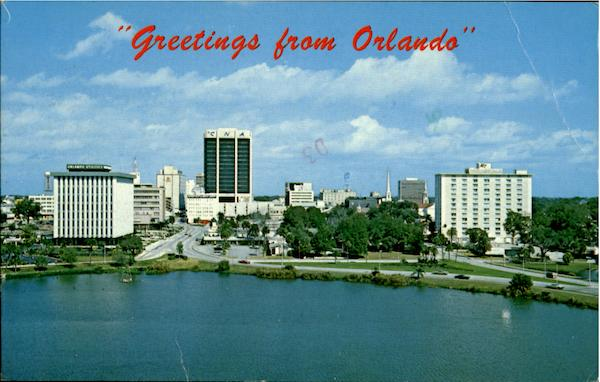 Greetings From Orlando Florida
