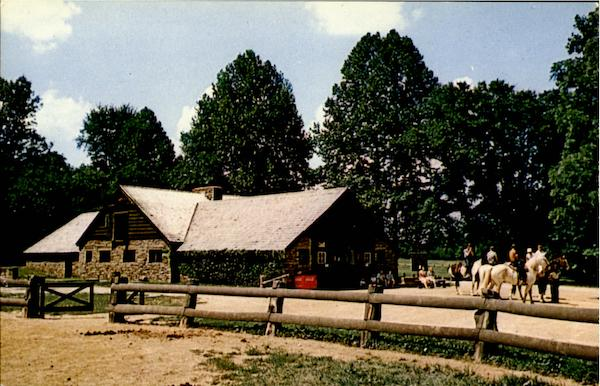 Saddle Barn, Brown County State Park Nashville Indiana
