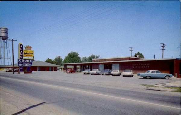 Alamo Court And Davy Crockett Restaurant, U. S. 67 South Walnut Ridge Arkansas