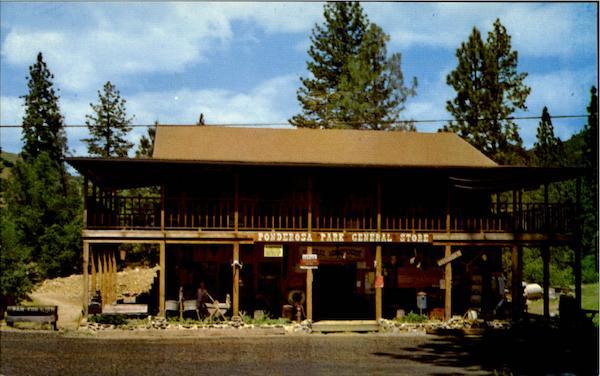 Ponderosa park general store and campground coloma ca for Ponderosa cabins california
