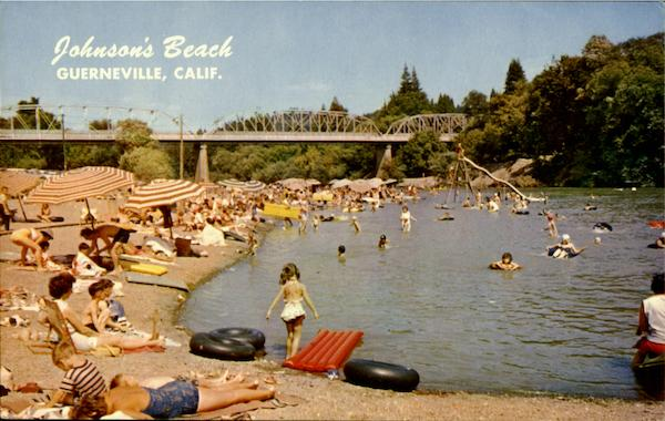 Johnson Beach Guerneville Johnson's Beach Guerneville