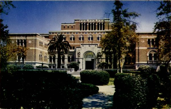 Edward L. Doheny Jr. Memorial Library Building, University of Southern California Los Angeles